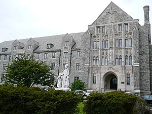 Monastery on the campus of Villanova University.