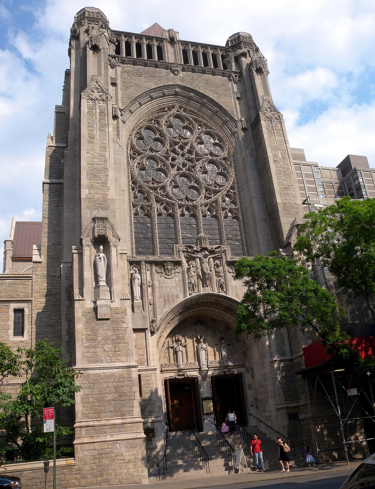 Church of st vincent ferrer manhattan wikipedia for Design in the city