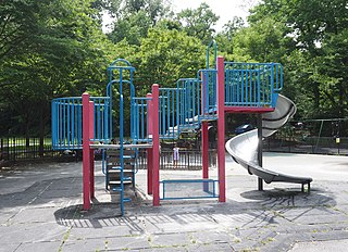 Vinmont Veteran Park Playground in the Bronx, New York