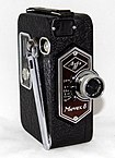 Vintage Agfa Movex 8 Movie Camera, The First Single-8 Camera To Use Film In A Cartridge, Made In Germany, Circa 1937 (21179067050).jpg