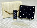Vintage Britemode Powder Compact Set, Polka Dot Design, Includes Case, Lipstick Holder, Comb and Compact (11138539504).jpg