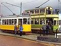 Vintage tram at the Wirral Bus & Tram Show - DSC03379.JPG
