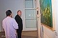 """Visita ministro de la cultura francés Frederic Mitterrand a la exposición """"Inselberg"""" de Rafael Torres Correa..jpg"""