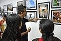 Visitors At Inaugural Day - 45th PAD Group Exhibition - Kolkata 2019-06-01 1288.JPG