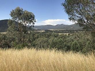 Daruka, New South Wales - Vista of the Moonbie Range from Catherine Way, Daruka