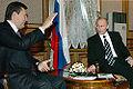 Vladimir Putin and Viktor Yanukovych in 2006.jpg