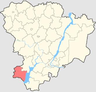 Chernyshkovsky District - Image: Volgogradskaya oblast Chernyshkovsky rayon