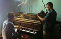 Volker Bertelmann Hauschka & Greg Hunt, Room 205, 2012-06-09.jpg