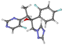 Voriconazole ball-and-stick.png