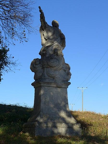 File:Vratěnín - socha sv. Jana Nepomuckého 01.jpg