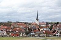 Wülfershausen an der Saale, Ortsansicht von Süden, 001.jpg
