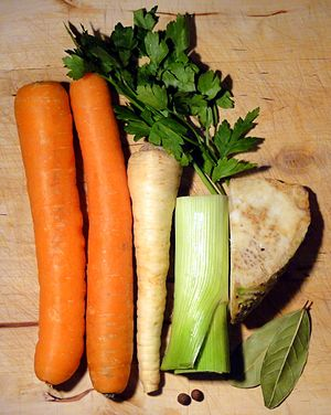 Mirepoix (cuisine) - Image: Włoszczyzna