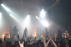 Carpathian Forest - Carpathian Forest live at Hellfest 2013