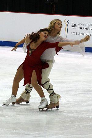 Alexandra Zaretsky - The Zaretskys perform at the 2009 Worlds