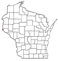 Location of Prescott, Wisconsin
