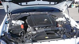 Jaguar XF (X260) - XF Prestige 20d's Ingenium 2.0 litre 4 cylinder turbocharged diesel engine