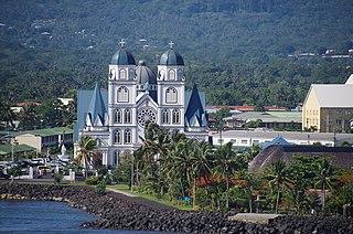 Apia Capital of Samoa