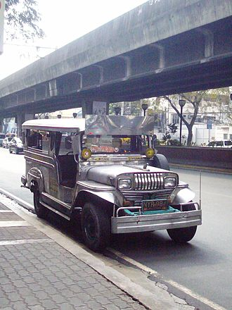 Taft Avenue - Jeepneys serve as alternative mode of transportation along Taft Avenue