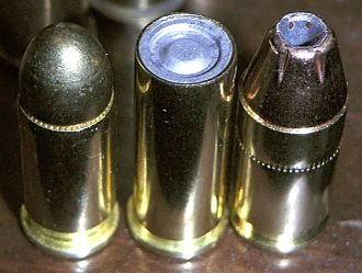 Terminal ballistics - .32 ACP full metal jacket, .32 S&W Long wadcutter, .380 ACP jacketed hollow point