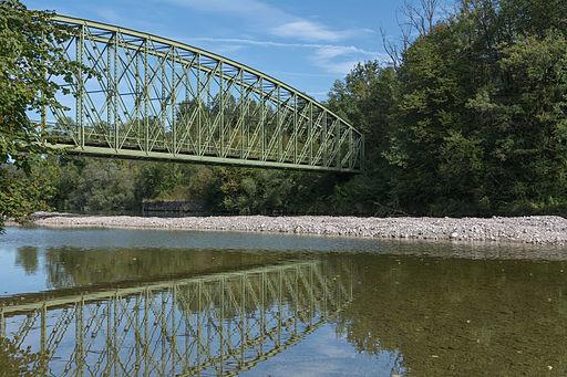 Waldneukirchen Steyrtalbahn Brücke Widerlager Pieslwang 2015