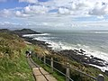 Walkers on Wales Coastal Path (geograph 6278271).jpg