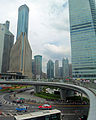 Walkway over Lujiazui central roundabout.jpg