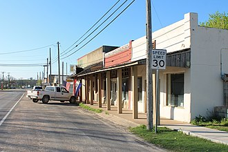 Walnut Springs, Texas - Image: Walnut Spings 1