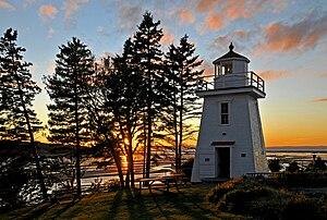 Walton, Nova Scotia - Walton Harbour Lighthouse