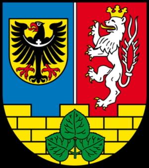 Görlitz (district) - Image: Wappen Landkreis Goerlitz