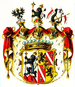 Zierotin - Coat of Arms of counts of Zierotin