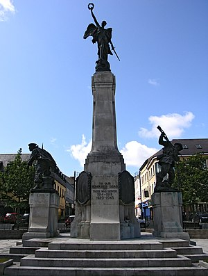 Vernon March - Diamond War Memorial in Derry, Northern Ireland