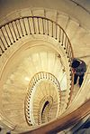Warsaw Royal Castle spiral staircase.jpg