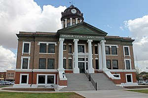 The Washita County Courthouse in 2015.