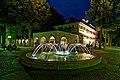 Wasserspiele an einem Sommerabend im Bad Mergentheim Kurpark. 12.jpg