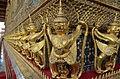 Wat Phra Kaeo - Palazzo reale a Bangkok, particolare.jpg