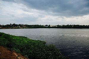 Chitlapakkam - Water level in Chitlapakkam lake