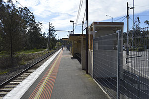 Wattle Glen railway station - Image: Wattle Glen station