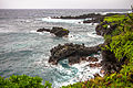 Waves at Waianapanapa State Park (6840648476).jpg