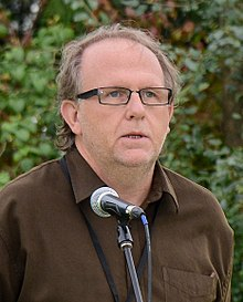 Wayne Johnston at the Eden Mills Writers' Festival in 2013