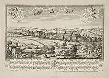 gravure: Weimar au XVIIIesiècle