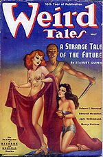 Weird Tales cover image for May 1938