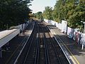 Welling station high westbound.JPG