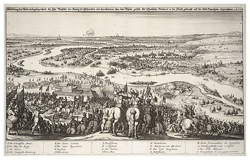 Wenceslas Hollar - Capture of Oppenheim