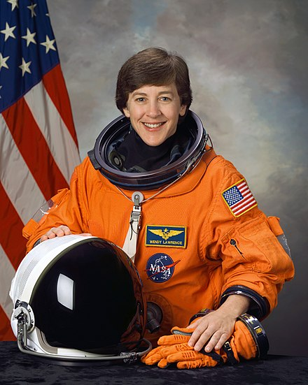 Astronaut Wendy B. Lawrence, Class of 1981 Wendy Lawrence NASA STS114.jpg