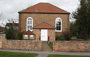 Appleton Roebuck - Image: Wesleyian Chapel Appleton roebuck geograph 716161
