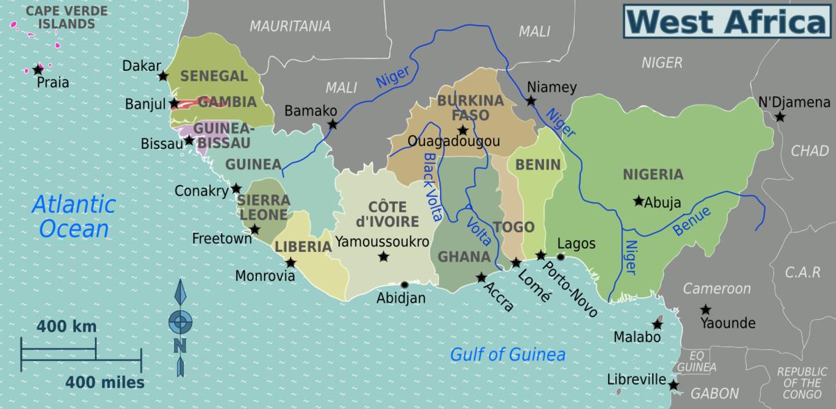 Afbeeldingsresultaat voor west-Afrika