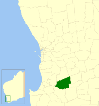 Shire of West Arthur - Location in Western Australia