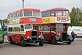 Westcliff On Sea bus 825 (AJN 825) & Sunderland Corporation bus 13 (GR 9007), 2011 Clacton Bus Rally (2).jpg