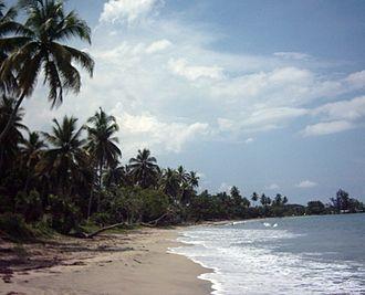 Wewak - One of Wewak's beaches
