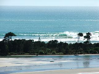 Bay of Plenty Region in North Island, New Zealand